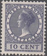 NETHERLANDS       SCOTT NO.  178       MINT HINGED      YEAR  1926     WMK--202 - Period 1891-1948 (Wilhelmina)
