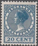 NETHERLANDS       SCOTT NO.  183      MINT HINGED      YEAR  1926     WMK--202 - Period 1891-1948 (Wilhelmina)