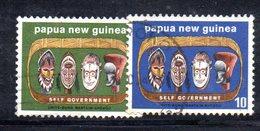 T2297 - PAPUA NUOVA GUINEA 1973 , Yvert N. 259/260  Usata - Papua Nuova Guinea