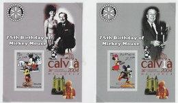 Somalia 2004; Chess Echecs; 4x S/s Disney + O/p Calvia Chess Olympiad - Somalia (1960-...)