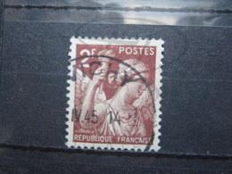 """VEND BEAU TIMBRE DE FRANCE N° 653 , CACHET """" VICHY """" !!! - 1939-44 Iris"""