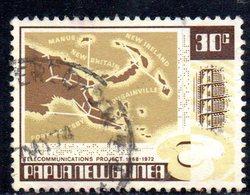 T2305 - PAPUA NUOVA GUINEA 1973 , Yvert N. 237  Usata - Papua Nuova Guinea