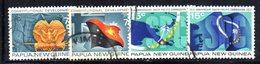 T2325 - PAPUA NUOVA GUINEA 1972 , Yvert N. 213/216  Usata - Papua Nuova Guinea