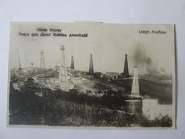Rare! Urlati Oilfield Scorus/The Romanian-American Company(subsidiary Of Standard Oil Of J.D.Rockefeller),postcard 1929 - Romania