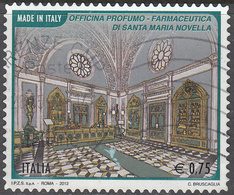 ITALY       SCOTT NO.  3122      USED      YEAR  2012 - 6. 1946-.. Repubblica