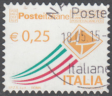 ITALY       SCOTT NO.  3165      USED      YEAR  2013 - 6. 1946-.. Repubblica