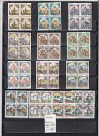 """ITALIA  1980 - 13 Quartine Usate """"Castelli"""" - 1946-.. République"""