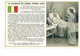 ALPINO ALPINI PREGHIERA SOLDATO PRIMA GUERRA MONDIALE - War 1914-18