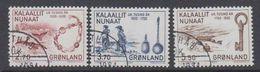 Greenland 1984 Besiedlung Durch Europäer 3v Used (41072A) - Greenland