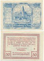 Altenburg Gemeinde Windhaag Bei Perg, 1 Schein Notgeld 1920 Österreich 50 Heller - Oesterreich