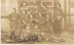 KATOWICE-Kattowitz -Carte Photo1921-Plébiscite De Haute Silésie-10 ème Bataillon De Chasseurs à Pied - Altre Guerre