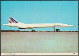 Air France Concorde - Charles Skilton Postcard - 1946-....: Modern Era