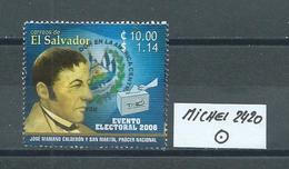 EL SALVADOR MICHEL 2420 Gestempelt Siehe Scan - El Salvador