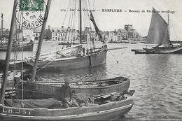 50)   BARFLEUR - Bateaux De Pêche Au Mouillage - Barfleur