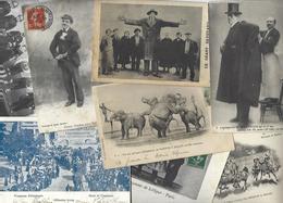 Lot 1526 De 10 CPA Cirque Circus Cirk Spectacle Déstockage Pour Revendeurs Ou Collectionneurs - Ansichtskarten