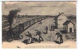 58 HUMOUR  LEGENDE  DE   SAINT  SAULGE 1907    LE TACOT   N°14  TBE   1I42 - Frankrijk
