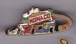Pin's GRAND PRIX DE MONACO F1 92 SIGNE ARTHUS BERTRAND - F1