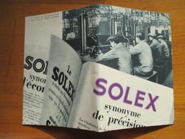 (1936)  NEUILLY SUR SEINE - Intérieur Usine SOLEX- Coupure De Presse Originale (Encart Photo) - Historical Documents