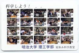 Jeu Télécarte Japon Phonecard Telefonkarten D 383 - Jeux