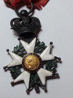 ORDRE MEDAILLE LEGION D HONNEUR LOUIS PHILIPPE MONARCHIE ARGENT ET OR HENRI IV - Médailles & Décorations