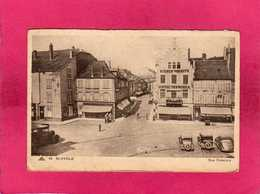 57 Moselle, St-Avold, Rue Poincaré, Animée, Commerces, Voitures, (CAP) - Saint-Avold