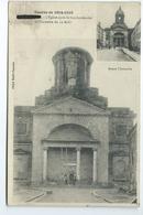 Badonviller Eglise Apres Le Bombardement Et L' Invasion Du 12 Aou Guerre De 1914 1915 Cliche Emile Fournier 1916 Ou 1918 - Autres Communes