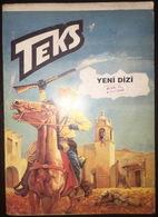Tex Willer - Turkish Edition Teks Alfa Yayinlari Alevli Hac - Ku Klux Klan Tarikati - Books, Magazines, Comics