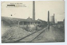 Badonviller La Faiencerie Fenal Apres Les Bombardements De Fevrier Et Mars Guerre De 1914 1915 Cliche Emile Fournier - Autres Communes