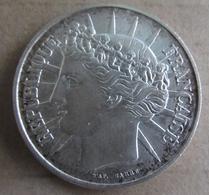 PIECE Argent 100 Francs Fraternité - France