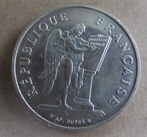 PIECE 100 Francs Droits De L' Homme - France