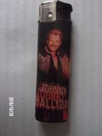 Johnny Hallyday - Briquet (vide) Rechargeable PROF - Briquets