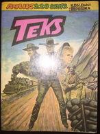 Tex Willer - Turkish Edition Teks Alfa Yayinlari - Vashington'da Tuzak-Olum Gokten İndi - Books, Magazines, Comics