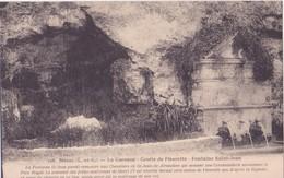 CPA - 118. NERAC La Garenne Et La Grotte De Fleurette....fontaine St Jean - Nerac