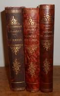 Alphonse Daudet. Contes Du Lundi. Le Nabab. Tartarin De Tarascon. 1926 Et 1937. - Lots De Plusieurs Livres
