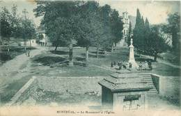 MONTREAL-le Monument Et L'église - Sonstige Gemeinden
