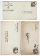 "3 Enveloppes De ""The ROSICRUCIAN FELLOWSHIP"" - Oceanside, Calfornia - Documents Historiques"
