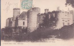 CPA - DURAS Près De MARMANDE - Ancien Château Du Duc De DURAS - Marmande