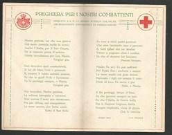 CROCE ROSSA ITALIANA - LUGLIO 1915 - 1900-44 Vittorio Emanuele III