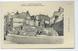 Luneville Rue Castara 1914 La Guerre En Lorraine Defense Du Grand Couronne De Nancy B 330 Carte Animee - Luneville