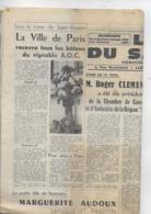 10 N° De LE VILLEFRANCHOIS Les Nouvelles Du Rouergue - Desde 1950