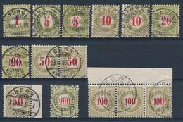 HELVETIA - Portomarken - Selectie Luxe-stempels  - (ref. 124) - Postage Due