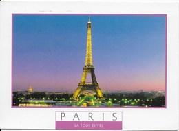 Paris : Tour Eiffel éclairage - Eiffelturm