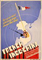 Travel Postcard French Indo-China Saigon 1938 - Reproduction - Advertising