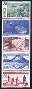 SWEDEN 1976 Tourism: Angermanland Set In Strip MNH / **.  Michel 945-49 - Sweden