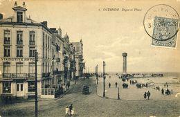 OSTENDE -- DIGUE  Et  PHARE - Oostende