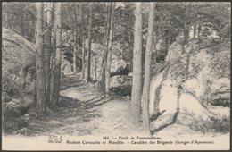 Rochers Cartouche Et Mandrin, Forêt De Fontainebleau, C.1910 - CPA - Fontainebleau