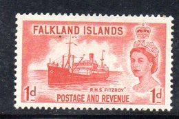 T1914 - FALKLAND  1955 , Yvert N. 117  *** - Falkland