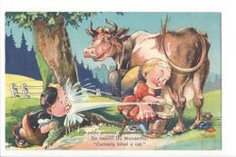 20662 - Les Petits Sentiments Entretienent L'Amitié Vache Minouvis - Illustrateurs & Photographes