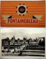 77 - Carnet De Cartes ARGENTIQUES - FONTAINEBLEAU - 8 Cartes Sur 10 - Fontainebleau