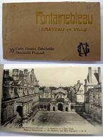 77 - Carnet De 20 Cartes  - FONTAINEBLEAU - Complet - Fontainebleau